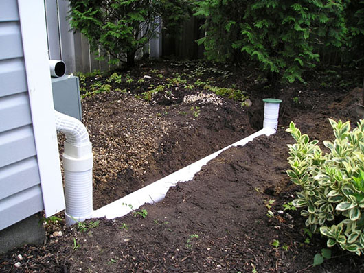 Underground Drainage Systems Installed Long Island